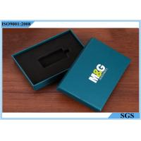 Key Packing Rigid Gift Boxes , Rectangle Decorative Gift Boxes With Lids