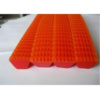 China Red Corrugated Grip Belt for Textile Easy Jointed Other Characteristics wholesale