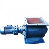 China Rotary airlock valve YJD 18 stainless steal or cast iron rotary feeder in blue wholesale