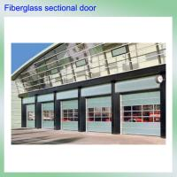 China China unqiue Germany technique high strength hollow light weight fiberglass sectional garage door wholesale