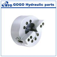 China Solid Dynamic Hydraulic Lathe Chuck / 2 Jaw Chuck For Surface Grinding Machine wholesale