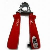China Hand Grip with Counter, Made of ABS and Steel Spring, Various Colors are Available wholesale