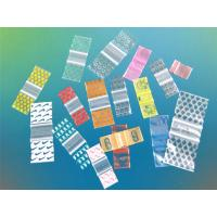 China PE Dispensing Plastic Packaging Bags Zip / Sealed For Medical Packaging on sale