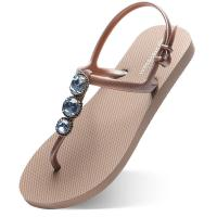 China Comfortable Flip Flops Sandals Slippers , Cool Flip Flops Customized Color wholesale