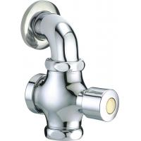 """China Button Self Closing Toilet Flush Valve Matching With G1"""" Or G3/4"""" Inlet For Squat Pan wholesale"""
