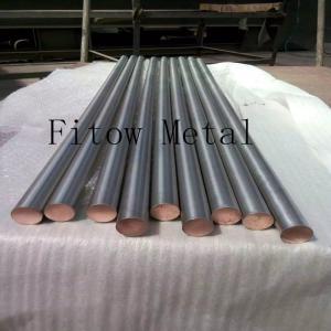 China Titanium Clad Copper Bar, Tube and Wire  copper bar/ titanium anode/ ti clad copper GB/T12769 2 wholesale