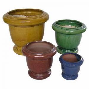 China Ceramic Flower Pots Planters wholesale