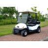China Carrinho bonde pequeno dois Seater do golfe do carro do clube, 25-30 km/h de velocidade máxima wholesale