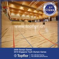Indoor wood design PVC basketball court sports flooring