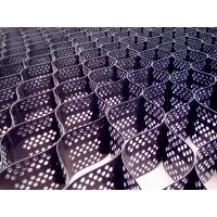 China Welded HDPE Slope Protection Geocell Black / Grey Environment Protection wholesale