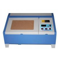 Buy cheap Mini Laser Engraving Machine With Roller Guide Rail , Laser Cutter Engraver from wholesalers