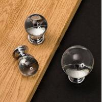 China Different size fashionable crystal ball door handle wholesale