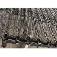 China 316l Stainless Steel Chain Mesh Conveyor Belt  For French Fries Baking Woven on sale