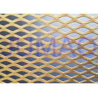 China Functional Facade Treatment Architectural Expanded Metal Mesh Striking Cladding wholesale