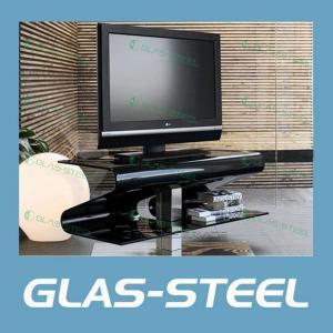 China 2012 Modern Bent Glass TV Stand wholesale