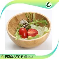 China luxury bamboo fruit salad bowl wholesale