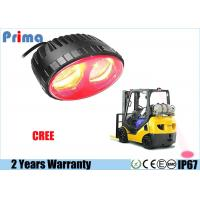 Quality 8W Cree Forklift Warning Lights Red Spot Beam IP67 Waterproof 650 Lumen for sale