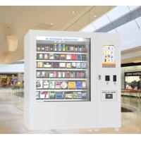 China mini mart  tea coffee cosmetic Vending Machines with 22 Inch Touch Screen Display on sale