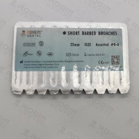 China Stainless Steel Barbed Broaches Dental Endo Files With An Optional Sterilization wholesale