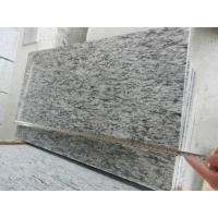 China Construction material natural stone Factory Supplier Sea wave white granite Polished Paving stone/blind paving stone wholesale