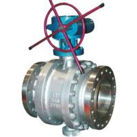 China RF Flanged Fixed Trunnion Mounted Stainless Steel Ball Valves Class 2500 wholesale