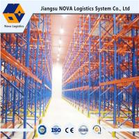 China Durable Drive Through Racking System Industrial Metal Storage Racks Automation Control wholesale