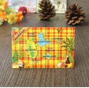 China Tinplate Tourist Resort Fridge Magnet wholesale