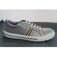China Gray Autumn PU Safety Toe Work Shoes , Low Ankle Oil Resistant on sale