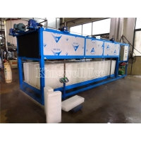 China Commercial 380V R404a 5 Ton Automatic Block Ice Machine on sale