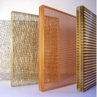 China Fabric mesh laminated glass-for interior decoration on sale