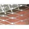 China 316 Flexible Stainless Steel Mesh Netting Balustrade for Marinas wholesale