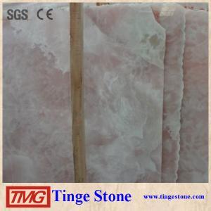 China good price pink onyx slab/ pink marble slab/ pink marble stone wholesale