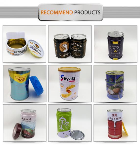 Rectangular cylinder shape 5L olive oil tin cans