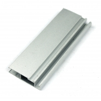 China Extrusion Frame Silver Anodized 6063 Aluminum Window Profiles on sale