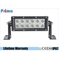 China 7.5 Inch 36W LED Car Light Bar With Screws CREE Led Spot / Flood Beam wholesale