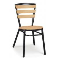 China LJC248 Aluminium furniture outdoor polywood chair wholesale