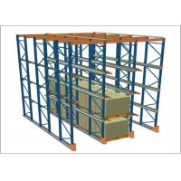 China Cold Rolled Steel Warehouse Pallet Racking Systems Electrostatic Spray wholesale