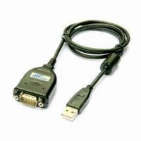 China Converter, Used for Data Communication Between USB 1.1/2.0 Plug and RS232 Serial Port wholesale