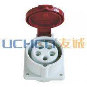 China 16A industrial plug & socket/400v industrial plug and socket on sale