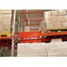 China Beverage Industry Push Back Rack Orange Double Deep Pallet Racking Heavy Duty wholesale