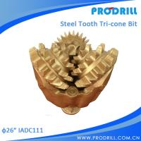China API Three Cone Drill Bit/Router Bit/Tricone Bit For Oil Field Equipment on sale