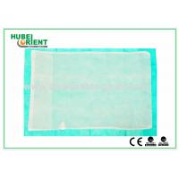China Customized Disposable Bed Sheets Nonwoven Fabric Pillow Cover , CE / ISO Approved wholesale