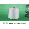 China Fil tourné par polyester cru du blanc 100, fil tourné par noyau de polyesterUndyed wholesale