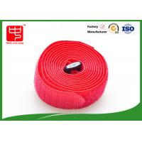 China 100% nylon straps with hook and loop ,  adjustable hook and loop straps 25mm Width 200mm Length wholesale