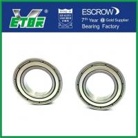 China Deep Groove High Speed Bearings For Automobile / Motors / Machine Tools wholesale