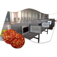 China SUS Industrial Chili Microwave Drying And Sterilizing Machine wholesale