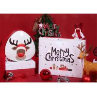Buy cheap Colourful And Cute Custom Paper Gift Box For Packing Christmas Gift  To Celebrate The Festival from wholesalers