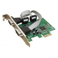 China 2  Port PCI-Express Serial Card, MCS9901 Chipset wholesale