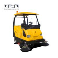 China Ride On Battery Type Floor Sweeper, Battery Driven Ceramic Tile Floor Cleaning Machine on sale