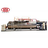 China 1 Ton Industrial Gas Steam Boiler , WNS Wetback Type Industrial Gas Boiler wholesale